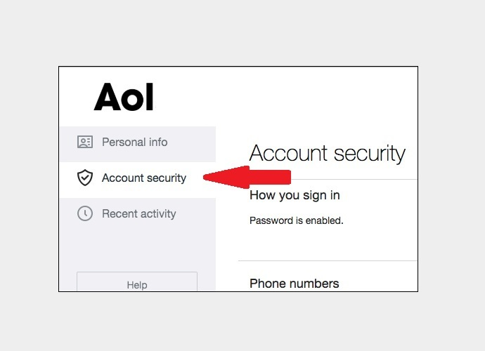 AOL Account Security