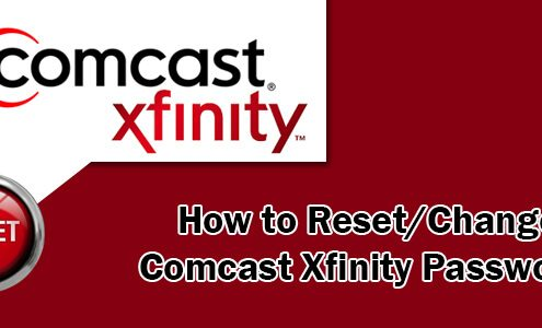 Change Comcast Email Password