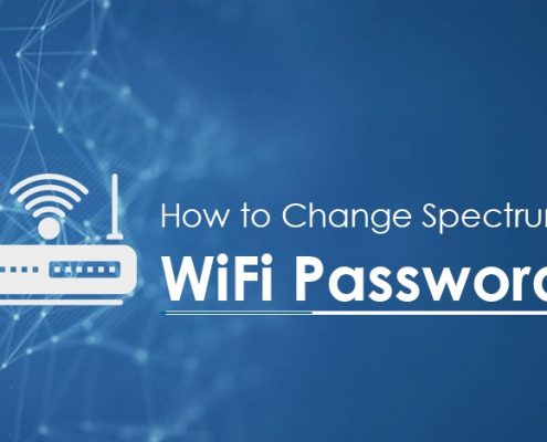 Change spectrum wifi password