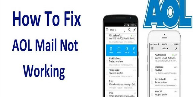 Fix AOL Mail Not working